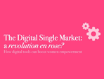 The Digital Single Market: a revolution en rose?