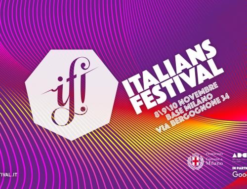 Didael KTS e LUZ a IF! Italians Festival 2018