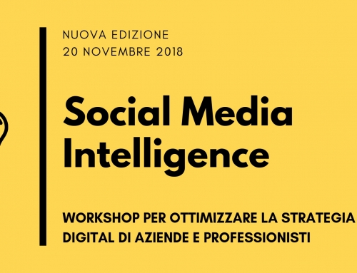 Social Media Intelligence: workshop per aziende e professionisti, a Milano il 20/11