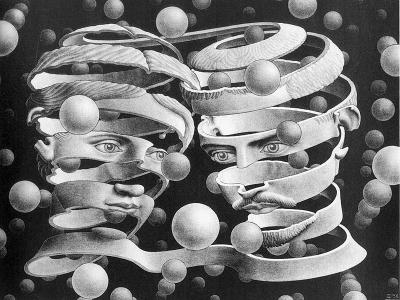 Maurits Cornelis Escher, Vincolo d'unione, 1956