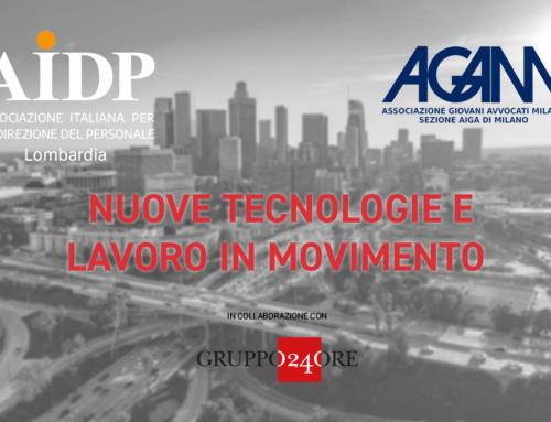 """Gianna Martinengo interverrà al convegno """"Nuove tecnologie e lavoro in movimento"""" – 16 gennaio 2020"""