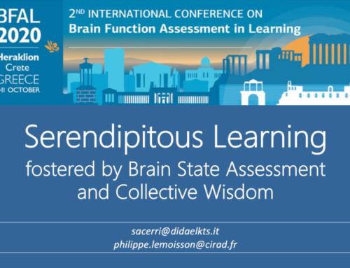 """Apprendimento """"fortuito"""" (serendipito) promosso dalla valutazione degli stati cerebrali e dall'intelligenza collettiva"""