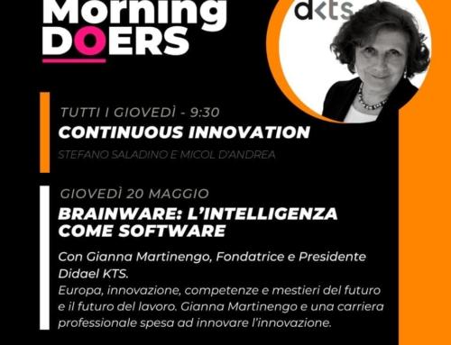 Brainware: l'intelligenza come software I Good Morning Doers